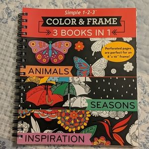 Color and Frame coloring book